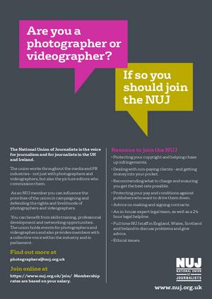 Photographers leaflet