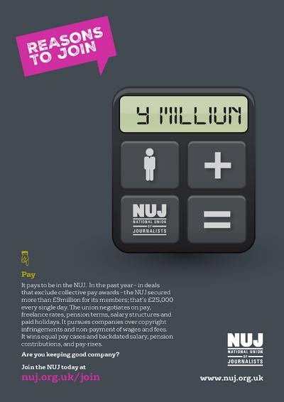 Pay recruiment poster