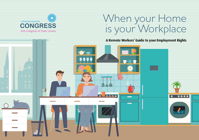ICTU working from home guide cover