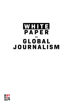 IFJ White paper on Global Journalism