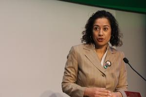 Samira Ahmed at the TUC Women's Conference 2020
