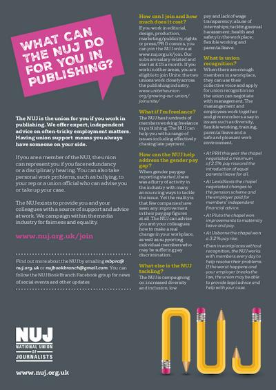Book fair recruitment poster