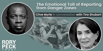 The Emotional Toll of Reporting from Danger Zones