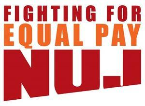 NUJ fighting for equal pay