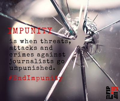 IFJ end impunity campaign