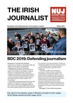 Irish Journalist Winter 2019