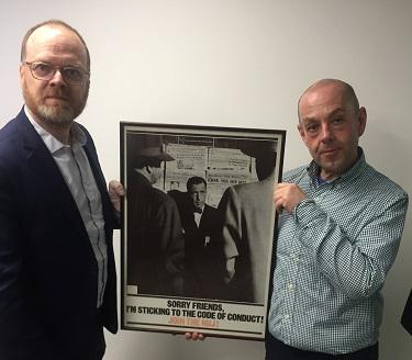  Trevor Birney and Barry McCaffrey