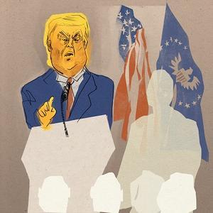 Donald Trump cartoon