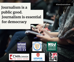 Save Journalism campaign