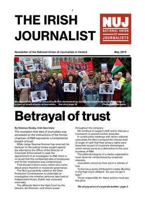 Irish Journalist May 2018