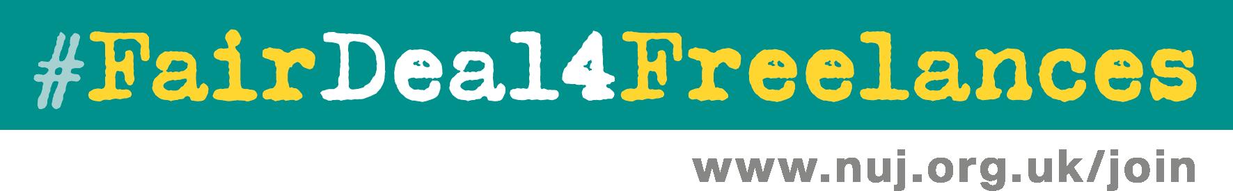 #FairDeal4Freelances banner