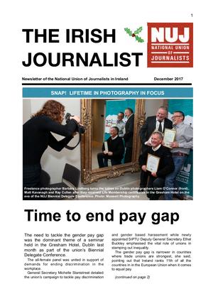 Irish Journalist December 2017