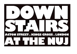 Downstairs at the NUJ logo