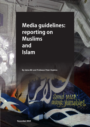 Cover: Media guidelines: reporting on Muslims and Islam report