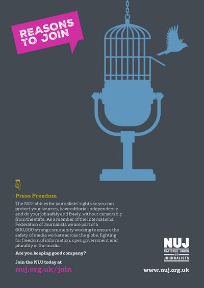Press freedom bird