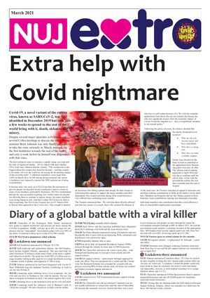NUJ extra Covid brochure cover
